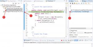 Java Debugger bei Eclipse