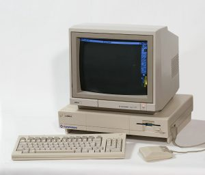 Amiga 1000 mit Deluxe-Paint